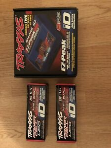 2x 3s lipo traxxas ID avec chargeur double
