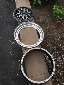 Single 3Piece BBS Porsche wheel