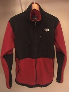 The North Face Denali Fleece Men's Large Red / Black