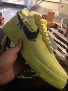 """Off-White"" X Nike Air Force 1 VOLT"