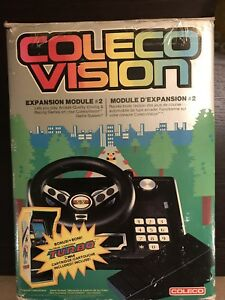 Coleco Vision Gaming System, w/ Games