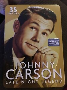 Johnny Carson Late Night Legend DVDs