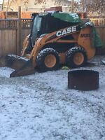 Skid steer and operator for hire