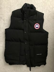 Men's Black Canada Goose Vest size Extra Small