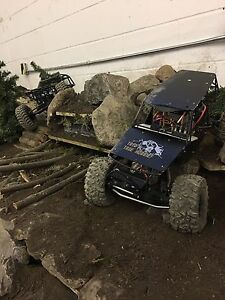 Upgraded axial wraith brushless