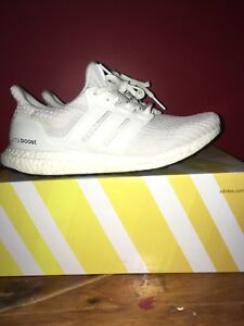 Triple white ultra boost
