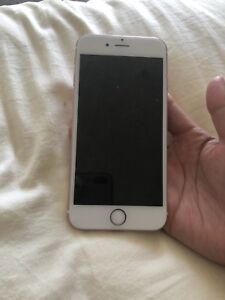 Rose gold iPhone 6s 64 gb