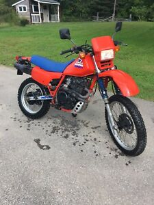1985 Honda XL 600R top condition