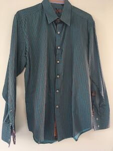 Robert Graham Men's Dress Shirt Size XL