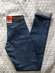 NEW WITH TAGS Naked & Famous Skinny Guy Jeans 28