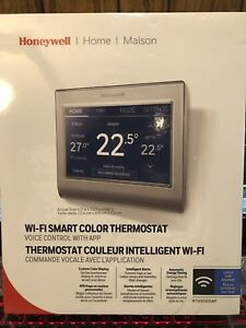 Honeywell wifi smart Color Thermostat:Sealed Box:FRee Delivery