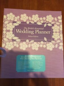 Gently used wedding planner