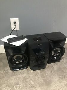 Sony Music System With Lightning Dock/USB/CD