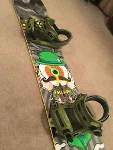 Salomon salvatore sanchez snowboard