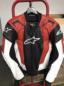 Alpinestars Rc-1 Leather Racing Jacket Size 38/48