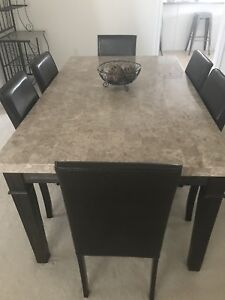 Marble Dining Table-almost new