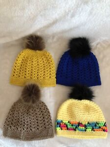 Women's hand knit hat