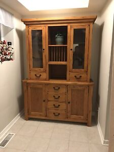 Solid Wood New Buffet / Hutch / Console / Display Cabinet / Bar
