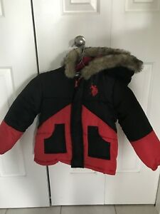 Boys 4T Polo winter jacket