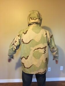 USA Military Parka, Cold Weather, Desert Camouflage