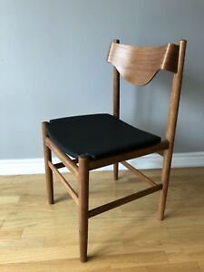 Teak Mid Century Modern Sculptural Desk/Dining Chair