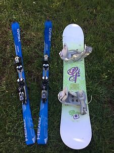 Rossignol skis 149cm Curl Curl Manly Area Preview