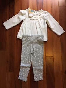 Girls Carter's 24m outfit