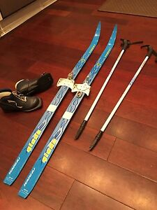 Kids Cross Country Ski Set - Used Once!