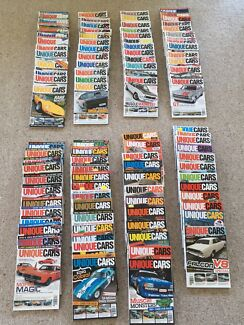 Unique Cars mags******2011 97 issues Ford GT Holden GTS Valiant VW etc