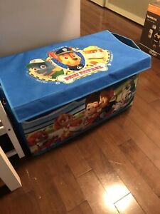 Paw patrol toy chest box