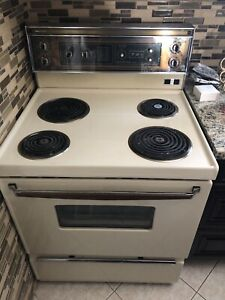 Vintage electric stove