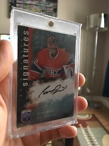 2007-08 Carey Price BAP Autograph from Rookie Year