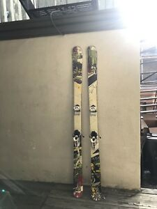 Ski twin tips k2 Kung fujas 180cm