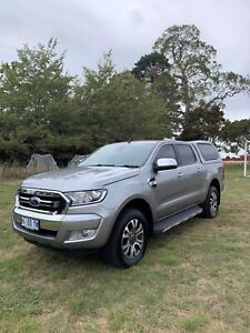 2015 Ford Ranger PX Mkll XLT Double Cab Silver 6 Speed Automatic