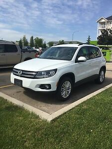 2016 White VW Tiguan Special Edition - No GST