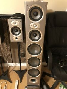 Polk Audio 7.1 home theatre Speakers