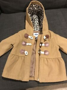 Adorable pea coat old navy 6-12 months
