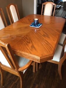 Dining Room Table And Hutch Set