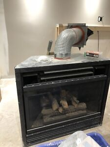 Gas fireplace insert - need gone ASAP