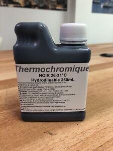 Peinture Thermochromique - Thermochromic Paint