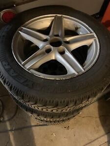 Winter tires studded