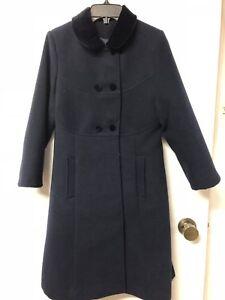 Girl dress coat