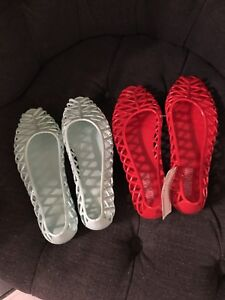 American Apparel Lattice Jelly Sandals