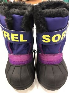 New Sorel winter boots size 5