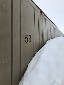 53' storage can good condition, must pick up $8000 in GP