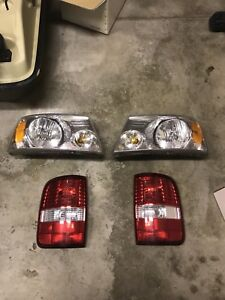 Ford F-150 head and tail lights