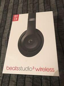 Beats Studio 3 Wireless Headphones *Matte Black*