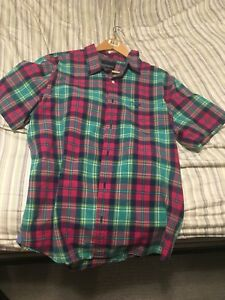 Green and Pink Flannel