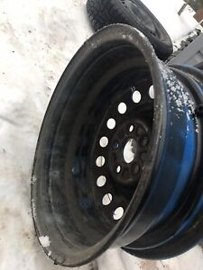 """4 5x114 16 """" rims with tires"""