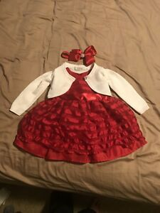 Dressy outfit. 6-12 months.